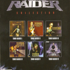 JOC PC THE LARA CROFT TOMB RAIDER COLLECTION 1-6 ORIGINAL / STOC REAL / by DARK WADDER - Jocuri PC Altele, Role playing, Single player