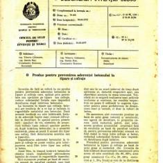 CERTIFICAT CU DESCRIEREA INVENTIEI NR. 62835 ( PRODUS PENTRU...) - Diploma/Certificat