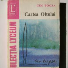 GEO BOGZA-CARTEA OLTULUI