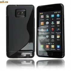 Husa silicon Samsung Galaxy s2 i9100 + folie protectie + expediere gratuita Posta - sell by PHONICA