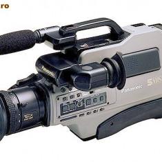 PANASONIC AG-455 Professional S-VHS VIDEO-CAMERA - Camera Video Panasonic, 2-3 inch, CCD, 20-30x