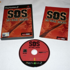 Joc Playstation 2 - PS2 - SOS The Final Escape - Jocuri PS2 Sony, Actiune, Toate varstele, Single player