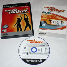 Joc Playstation 2 - PS2 - Music Maker - Jocuri PS2 Sony, Actiune, Toate varstele, Single player