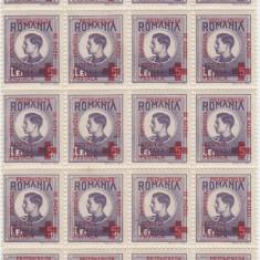 TIMBRE ROMANIA 5L Serv. prizonieri de razboi, supratip. RO135