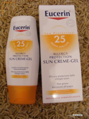 Lotiune plaja Eucerin Sun Gel-crema impotriva alergiilor solare foto