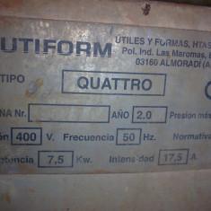 Masina de tencuit UTIFORM QUATTRO