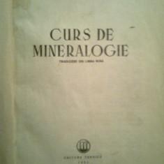 Curs de mineralogie