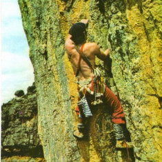 Ilustrata sport - catarator, alpinist