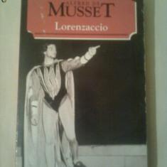 LORENZACCIO ~ ALFRED DE MUSSET - Carte Arta muzicala