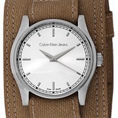 Calvin Klein K5711138 ceas dama. Nou. Garantie, Quartz, Otel, Material textil, Analog