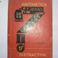 Aritmetica distractiva   I Perelman,R16