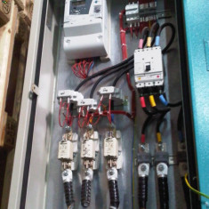 TABLOU ELECTRIC TRIFAZAT SANTIER - Tablou electric si siguranta