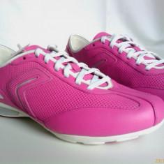 Papuci GEOX NET de dama piele naturala - Adidasi dama Geox, Culoare: Mov, Marime: 37