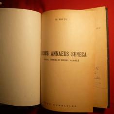 Ghe. GUTU - Lucius Annaeus Seneca - Prima Ed 1944; - Biografie
