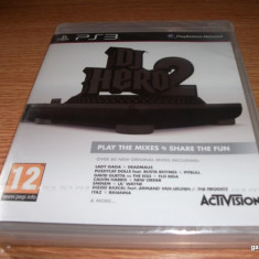 Joc DJ Hero 2 software, PS3, original si sigilat! - Jocuri PS3 Activision, Simulatoare, 12+, Single player