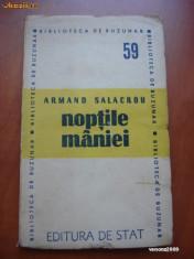 ARMAND SALACROU - NOPTILE MANIEI {1948}