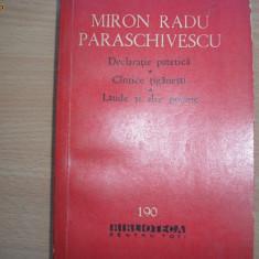 Miron Radu Paraschivescu - Declaratie patetica / Cintece tiganesti / Laude ,c4