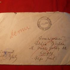 Plic Cenzurat 1944 -Grup 10 Vanatori de Munte -pe front