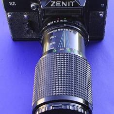 Aparat foto Zenit 11 cu obiectiv zoom 80-200 mm - Aparat Foto cu Film Zenit