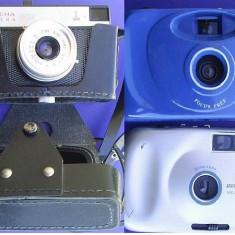 Aparat foto Smena plus 2 aparate foto pe film - Aparat Foto cu Film Smena
