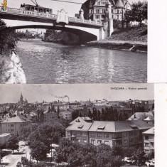 VEDERE ANSAMBLU DE 2 VEDERI ROMANIA-TIMISOARA- AVED 32 - Carte Postala Banat dupa 1918