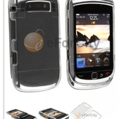 Blackberry Torch 9800 husa transparenta silicon rigid - Husa Telefon