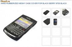 Husa plastic Blakberry 9700 + folie ecran + expediere gratuita Posta - sell by PHONICA