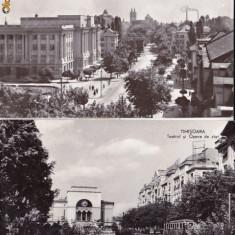 VEDERE ANSAMBLU DE 2 VEDERI ROMANIA-TIMISOARA- AVED 34 - Carte Postala Banat dupa 1918