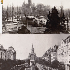 VEDERE ANSAMBLU DE 2 VEDERI ROMANIA-TIMISOARA- AVED 31 - Carte Postala Banat dupa 1918