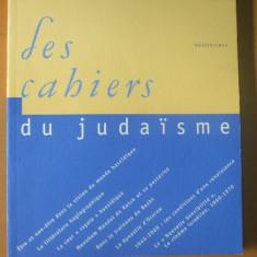 Les cahiers du judaisme nr. 8 / 2000 - Carti Iudaism