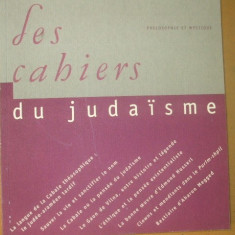 Les cahiers du judaisme nr. 16 / 2004 - Carti Iudaism