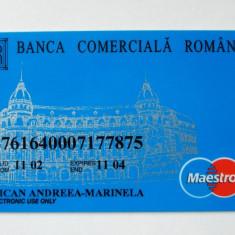 ROMANIA CARD BCR DE COLECTIE ** - Card Bancar
