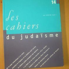 Les cahiers du judaisme nr. 14 / 2003 - Carti Iudaism
