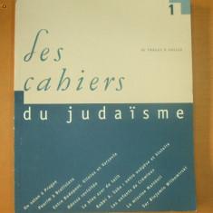 Les cahiers du judaisme nr. 1 / 1998 - Carti Iudaism