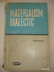 MATERIALISM DIALECTIC