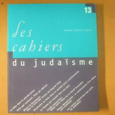 Les cahiers du judaisme nr. 13 / 2003 - Carti Iudaism