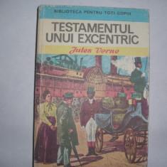 Jules Verne - Testamentul unui excentric-RF14/2