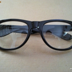 Ochelari Cu Lentile Transparente Clear Lens WAYFARER Nerd Geek gen tocilar - Ochelari stil wayfarer, Unisex