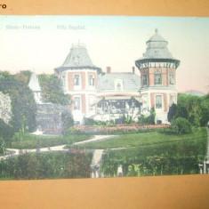 Carte Postala Slanic - Prahova Vila Bagdad 1916