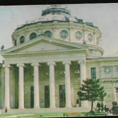 Carte postala-BUCURESTI-Ateneul Roman 2 - Carte Postala Muntenia dupa 1918