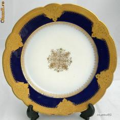 MAGNIFIC  si   RAR   platou decorativ LIMOGES ~~anul 1905~~