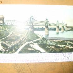 Carte Postala Salutari din Romania Podul de la Cernavoda