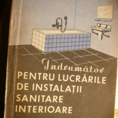 Indrumator Lucrari Instalatii Sanitare -L.Dumitrescu