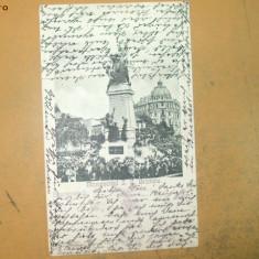 Carte postala Bucuresti Monumentul I. C. Bratianu