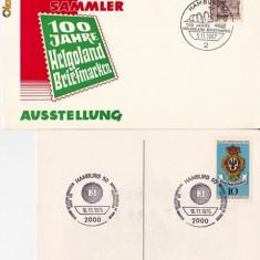 PLICURI STRAINE; GERMANIA(HAMBURG) -MIO 43 - Plic Papetarie