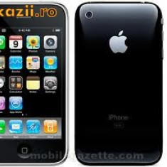 iPhone 3G Apple 8Gb, Negru, Neblocat