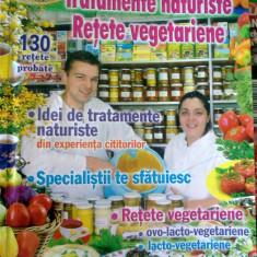 Carticica practic(a) - Tratamente naturiste, Retete Vegetariene - Carte tratamente naturiste