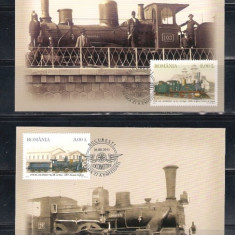 ROMANIA 2011- LOCOMOTIVE - MAXIME - LP 1913 - Timbre Romania