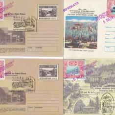 RFL 1999 Paltinis 4 plicuri intreguri postale vignete S.O.S. Hohe Rinne 75 ani - Timbre Romania, An: 1995, Nestampilat