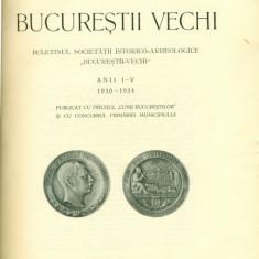 BUCURESTII VECHI ANII I-V 1930-1934